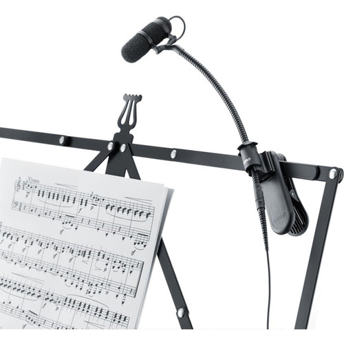 DPA Microphones d:vote Instrument Gooseneck Microphone with Clamp Mount