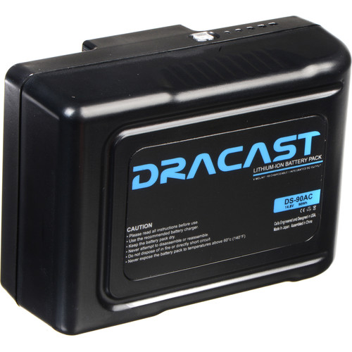 Dracast 90Wh Compact Li-Ion Battery (Gold Mount)