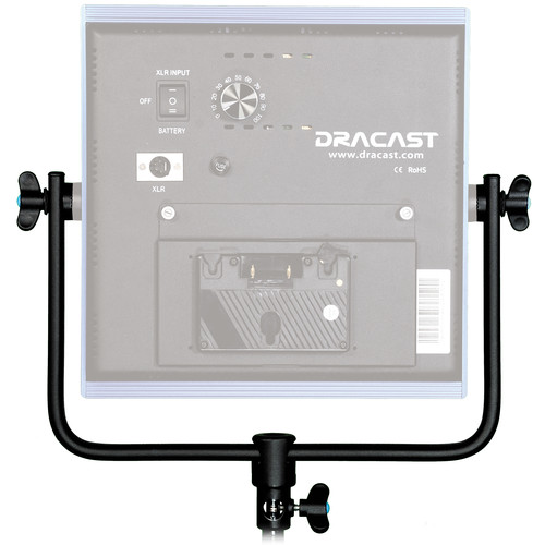 Dracast Aluminum Yoke for LED1000 Light