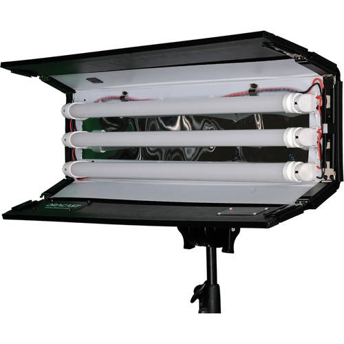 Dracast LED1000 Tube Bi-Color LED Light with V-Mount Battery Plate