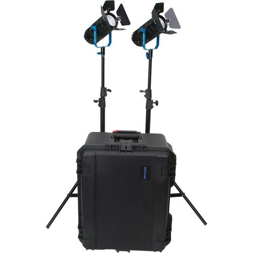Dracast Boltray 400 Plus Daylight LED 2-Light Kit with Case