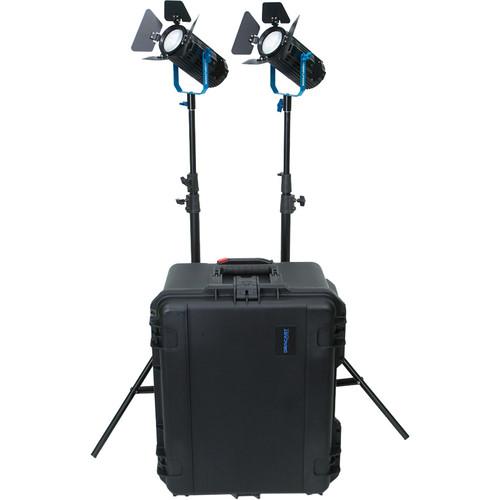 Dracast BoltRay 600 Plus Daylight LED 2-Light Kit with Case