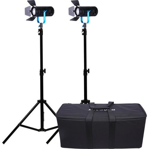 Dracast Boltray 600 Plus Daylight LED 2-Light Kit with Soft Case