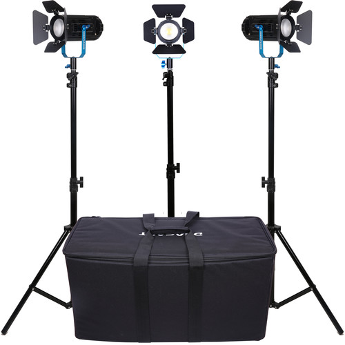Dracast BoltRay 400 Plus LED Bi-Color 3-Light Kit with Soft Padded Case