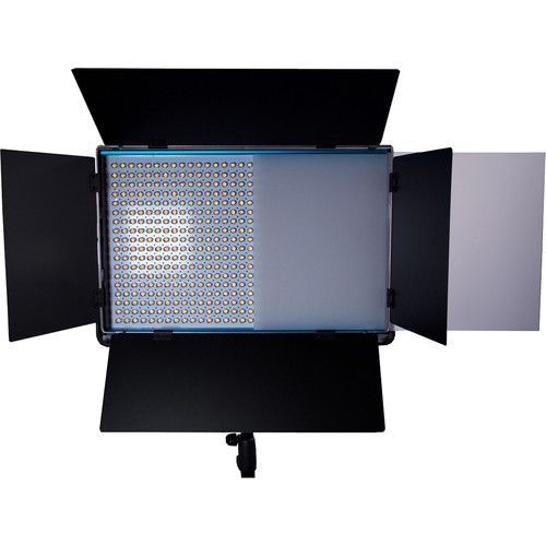 Dracast Cineray Series LED1100 Bi-Color LED Panel with V-Mount Battery Plate