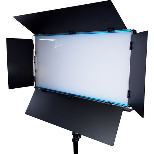 Dracast Cineray Series LED1300 Bi-Color LED Panel with V-Mount Battery Plate