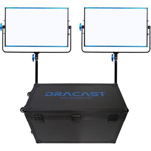 Dracast LED1000B Silq Bi-Color LED 2-Light Kit