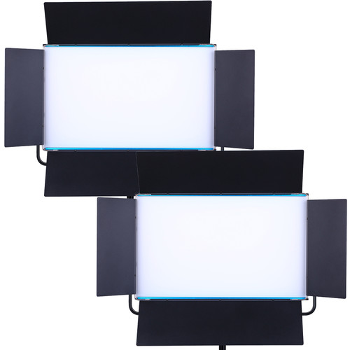 Dracast LED1000D Silq Daylight LED 2-Light Kit