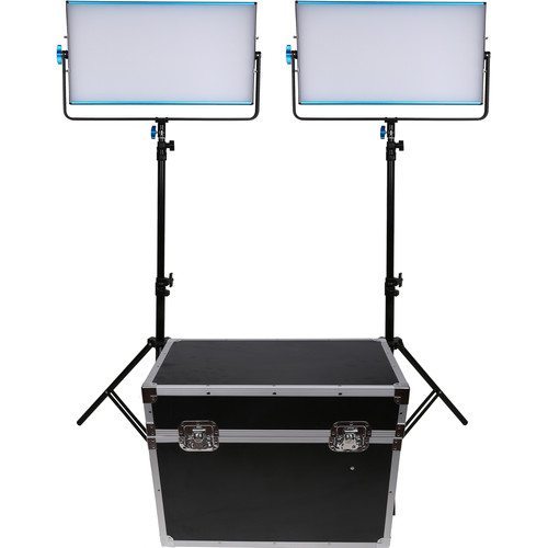 Dracast LED3000B Silq Bi-Color LED 2-Light Kit