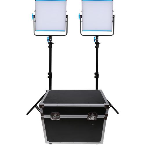 Dracast LED500B Silq Bi-Color LED 2-Light Kit