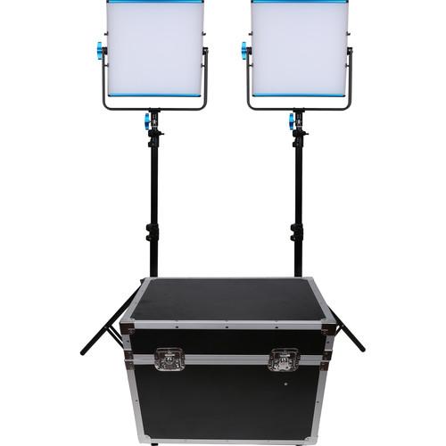 Dracast LED500D Silq Daylight LED 2-Light Kit