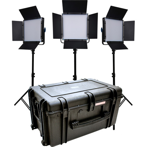 Dracast LED1000 Kala Bi-Color LED 3-Light Kit
