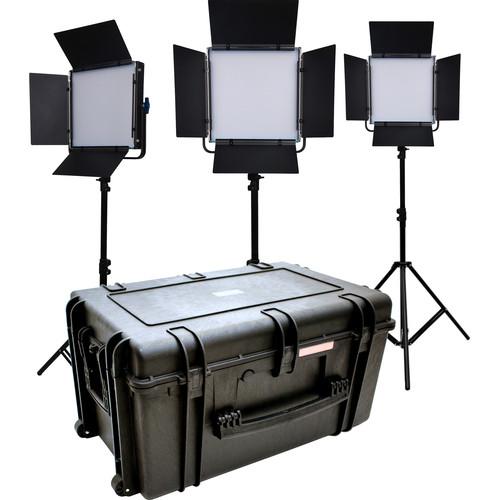 Dracast LED1000 Kala Daylight LED 3-Light Kit