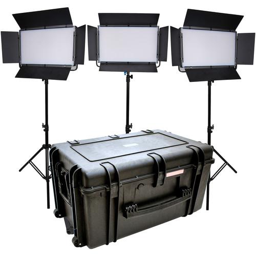 Dracast LED2000 Kala Daylight LED 3-Light Kit