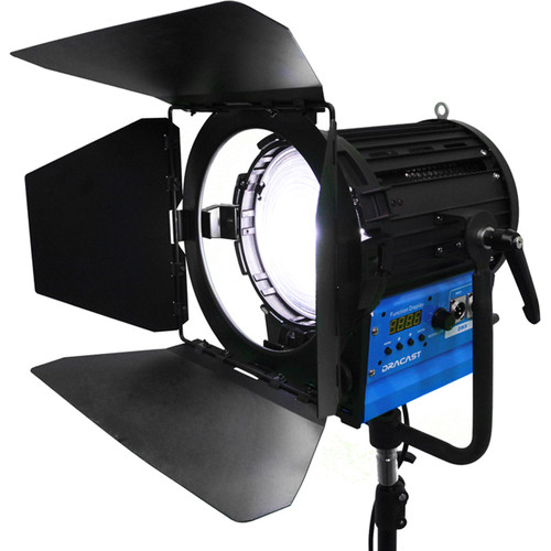 "Dracast Fresnel1000 6.8"" Bi-Color LED Fresnel"