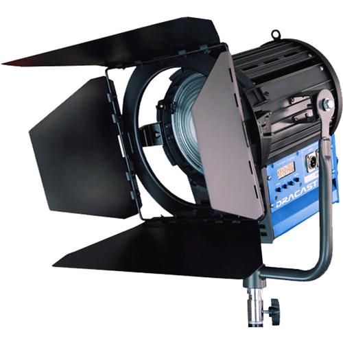 """Dracast Fresnel2000 6.8"""" Bi-Color LED Fresnel"""