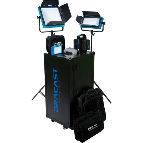 Dracast Portrait Plus 3-Light Kit (Bi-Color)