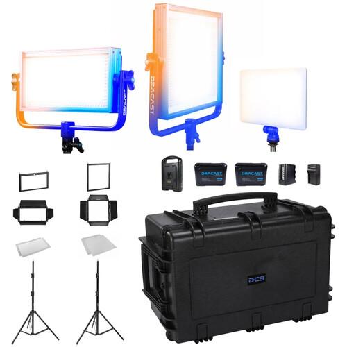 Dracast Portrait Plus 3-Light Kit (Bi-Color)