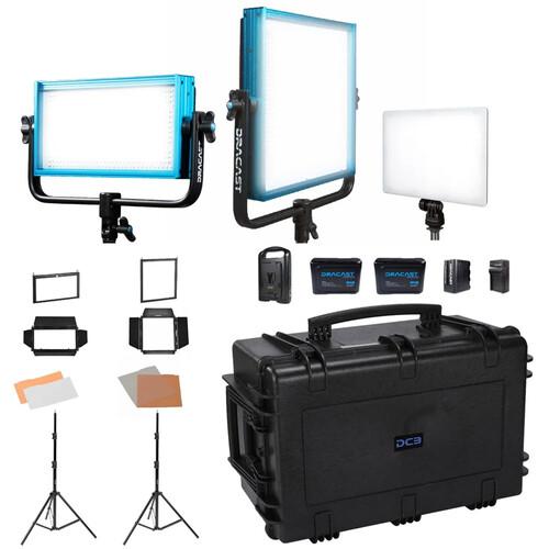 Dracast Portrait Plus 3-Light Kit (Daylight)