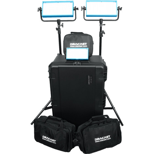 Dracast Wedding Plus 3-Light Kit (Daylight)