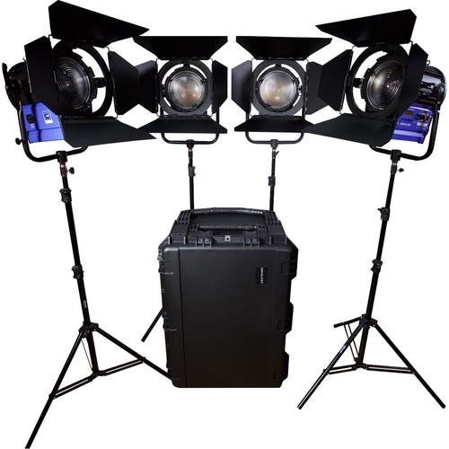 Dracast Dracast Led4000 Fresnel 4-Light Kit