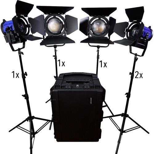 Dracast Dracast Led1900 Fresnel 5-Light Kit