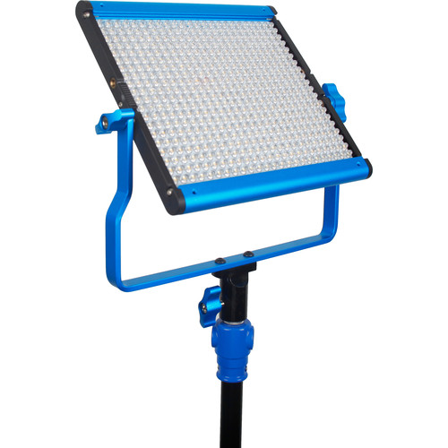 Dracast LED500 Silver Series Bi-Color LED Light with V-Mount Battery Plate