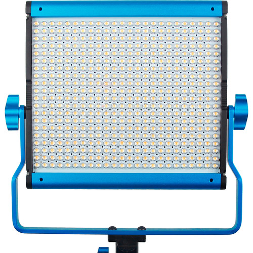 Dracast LED500 Silver Daylight LED Light with 2x Battery Plates