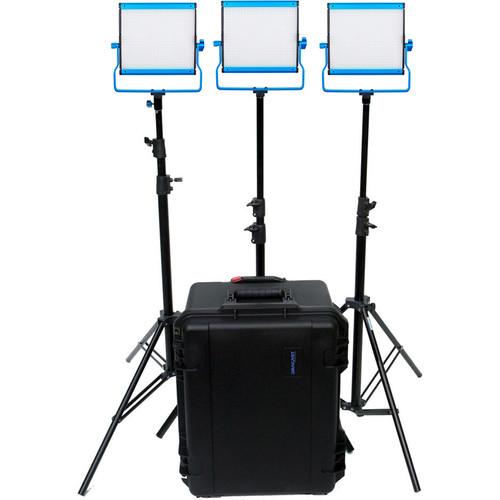 Dracast Silver Series LED500 Bi-Color LED 3-Light Kit
