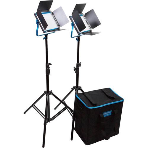 Dracast S-Series LED500 Plus Bi-Color LED 2-Light Kit with NP-F Battery Plates