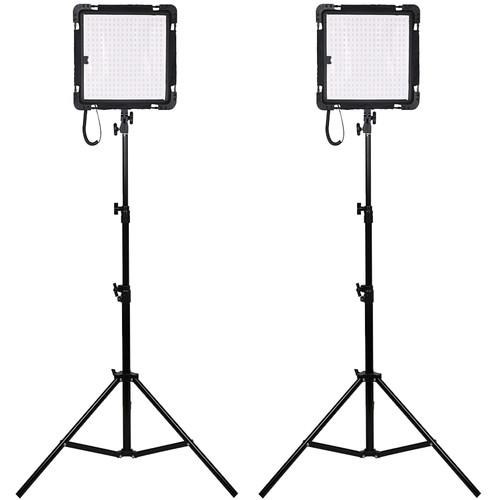 Dracast 2X Yoga Led500 Flexible Panel Light Kit (Daylight)