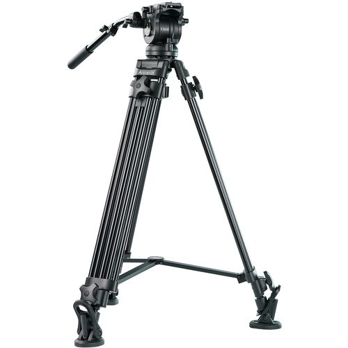 E-Image E-Image EK60AAM Fluid Drag Video Head and Tripod