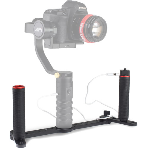 Draco Broadcast AFI Dual-Grip Gimbal Handle for AFI 3SD-1A Gimbal