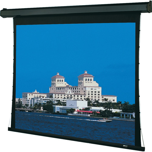 "Draper 101324FNQL Premier 31.8 x 56.5"" Motorized Screen with Low Voltage Controller and Quiet Motor (120V)"