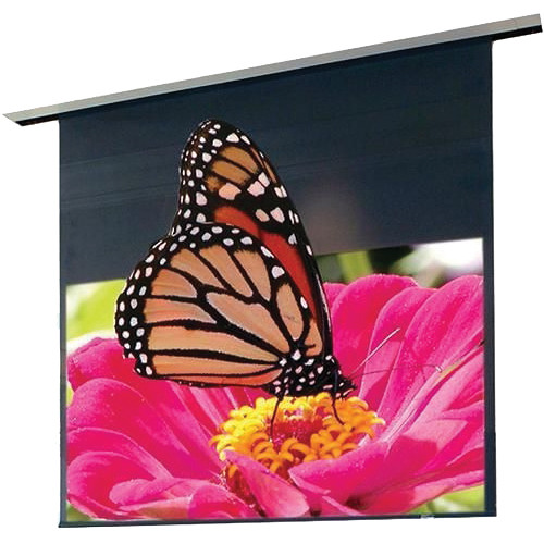 """Draper 111350QU Signature/Series E 84 x 108"""" Ceiling-Recessed Motorized Screen with LVC-IV Low Voltage Controller and Quiet Motor (120V)"""