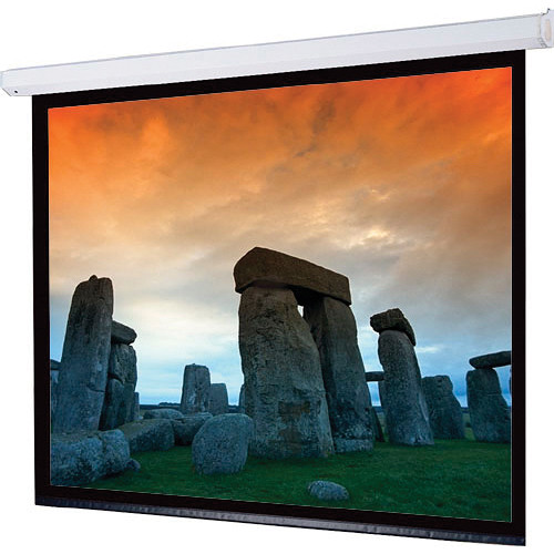 """Draper 116012QLP Targa 144 x 144"""" Motorized Screen with Low Voltage Controller, Plug and Play, and Quiet Motor (120V)"""