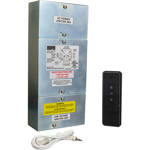 Draper LVC-IV/IRT Kit with LVC-IV Control Module, IR Transmitter, and IR Receiver (110V)