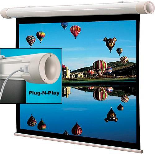 "Draper 136193SB Salara/Plug and Play 35.3 x 56.5"" Motorized Screen (120V)"