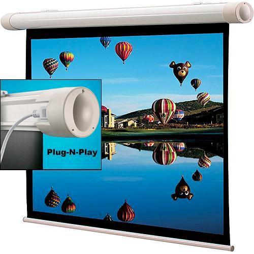 "Draper 136194SB Salara/Plug and Play 40 x 64"" Motorized Screen (120V)"