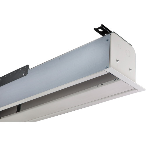 """Draper 139038SAL Access FIT/Series E 57.5 x 92"""" Ceiling-Recessed Screen with Low Voltage Controller (120V)"""
