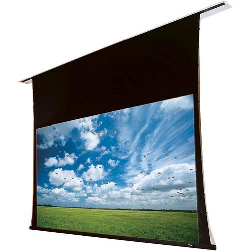 """Draper 140005SCQL Access/Series V 96 x 96"""" Ceiling-Recessed Screen with Low Voltage Controller and Quiet Motor (120V)"""