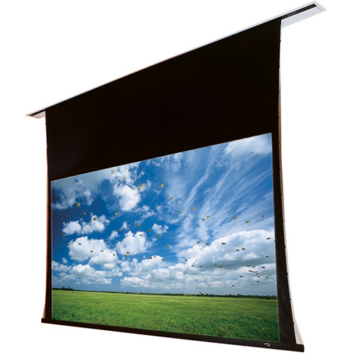 "Draper 140006Q Access/Series V 84 x 108"" Ceiling-Recessed Screen with Quiet Motor (120V)"