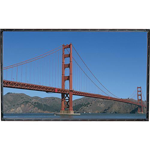 "Draper 250124SA Cineperm 31.8 x 56.5"" Fixed Frame Projection Screen"