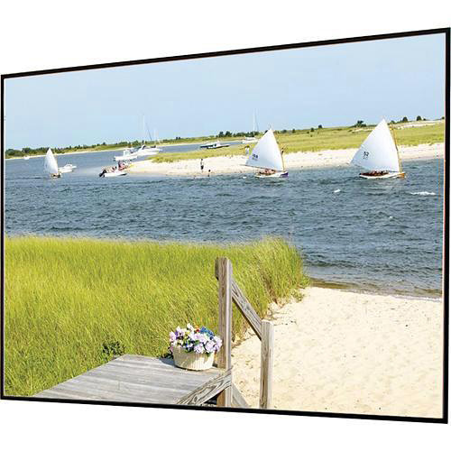"""Draper 252261FR Clarion 54 x 96"""" Fixed Frame Screen with Veltex"""