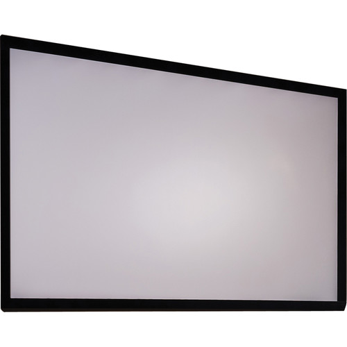 "Draper 252279 Clarion 49 x 87"" Fixed Frame Screen with Veltex"