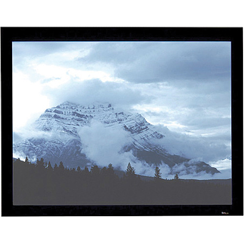 "Draper 253429FR Onyx 79 x 140"" Fixed Frame Screen"