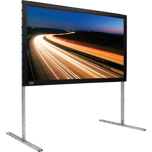 """Draper FocalPoint 81 x 144"""" Foldable HDTV 16:9 Projection Screen (Silver) with M1300 Matt White Surface"""