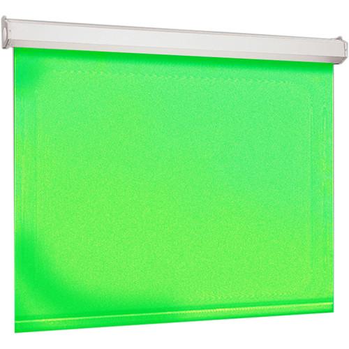 """Draper VCB Luma 2 Chroma Key Green Background (144 x 144"""" AV)"""
