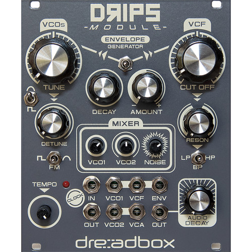 Dreadbox Drips V2.0 - Complete Analog Drum Synthesizer - Eurorack Module (21 HP)