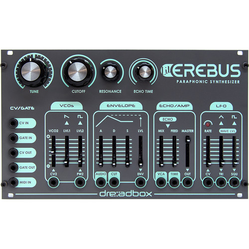 Dreadbox Lil' Erebus Full Synth Voice Module DIY Kit (34hp)
